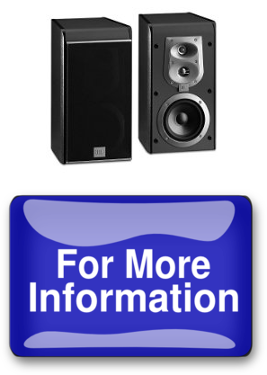 An JBL ES20 Bookshelf Speaker Pair
